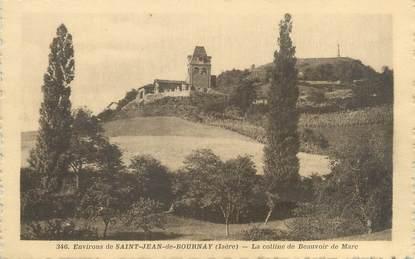 """CPA FRANCE 38 """"Environs de Saint Jean de Bournay, la colline de Beauvoir de Marc"""""""