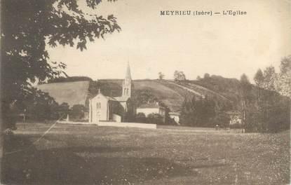 "CPA FRANCE 38 ""Meyrieu, l'église"""