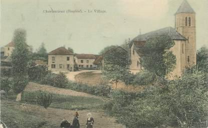 "CPA FRANCE 38 ""Charancieux, le village"""