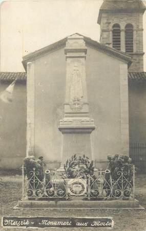 """CARTE PHOTO FRANCE 38 """"Meyrié, monument aux morts"""""""