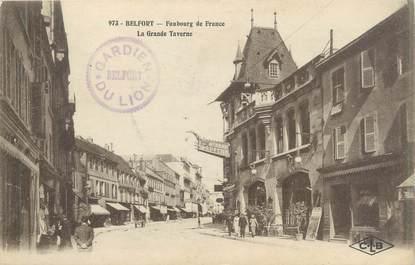 """CPA FRANCE 90 """"Belfort, la grande Taverne"""""""
