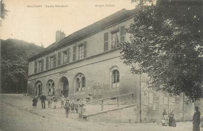 "CPA FRANCE 90 ""Belfort, école normale"" / REFERENDUM"