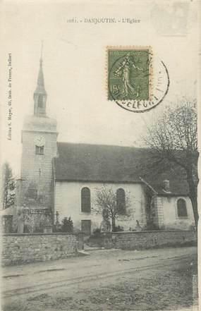 """CPA FRANCE 90 """"Danjoutin, l'église"""""""