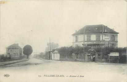"""CPA FRANCE 95 """"Villiers le Bel, avenue à Anie"""""""
