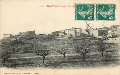 """CPA FRANCE 26 """"Réauville, vue générale"""""""