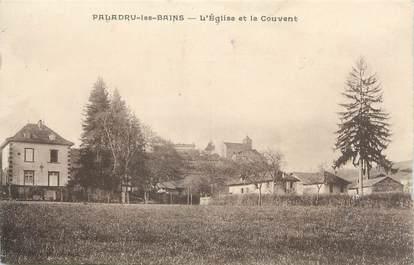 """CPA FRANCE 38 """"Paladru les Bains, l'église et le couvent"""""""
