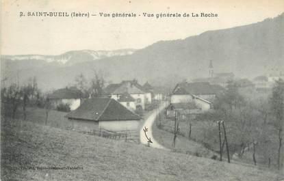 """CPA FRANCE 38 """"Saint Bueil, vue générale de La Roche"""""""