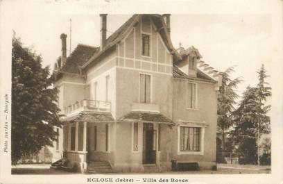 """CPA FRANCE 38 """"Eclose, villa des Roses"""""""