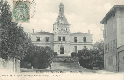 """CPA FRANCE 38 """"Saint Jean de Bournay, hôtel de ville """""""