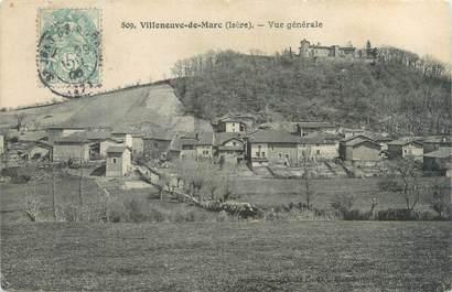 """CPA FRANCE 38 """"Villeneuve de Marc, vue générale"""""""