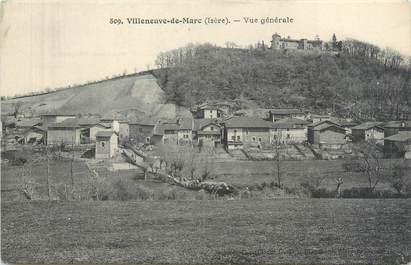"""CPA FRANCE 38 """"Villeneuve de Marc, vue générale '"""