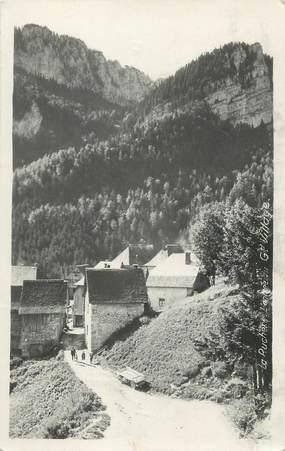 """CPSM FRANCE 38 """"La Ruchère, l'entrée du grand village"""""""