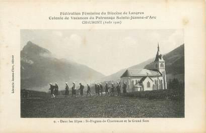 "CPA FRANCE 38 ""Saint Hugues et le grand Som """