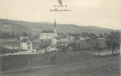 """CPA FRANCE 38 """"Saint Joseph de Rivière """""""