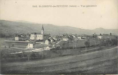 """CPA FRANCE 38 """"Saint Joseph de Rivière, vue générale"""""""