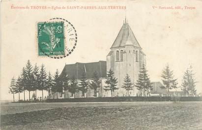 """CPA FRANCE 10 """"Environs de Troyes, église de Saint Parres aux Tertres"""""""