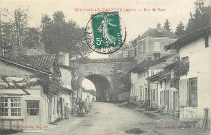 """CPA FRANCE 10 """"Brienne le château, rue du pont"""""""