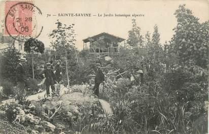 "CPA FRANCE 10 ""Sainte Savine, le jardin botannique"""