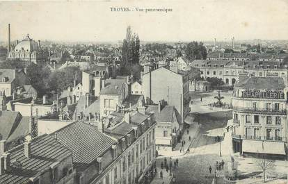 """CPA FRANCE 10 """"Troyes, vue panoramique"""""""