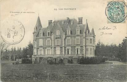 """CPA FRANCE 07 """"Nos châteaux d'Annonay et ses environs"""""""