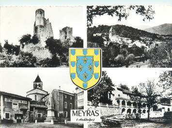 "CPSM FRANCE 07 ""Meyras"""