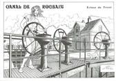 """59 Nord CPM FRANCE 59 """"Canal de Roubaix, écluse du Triest"""""""