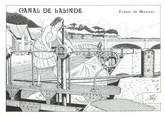 """24 Dordogne CPM FRANCE 24 """"Canal de Lalinde, écluse de Mauzac"""""""