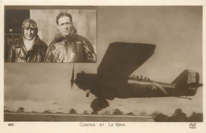 CPA AVIATION / Aviateur Costes et le Brix