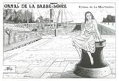 """44 Loire Atlantique CPM FRANCE 44 """"Canal de la BAsse Loire, écluse de La Martinière"""""""