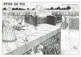 """44 Loire Atlantique CPM FRANCE 44 """"Etier de Vue, la triple Ecluse"""""""