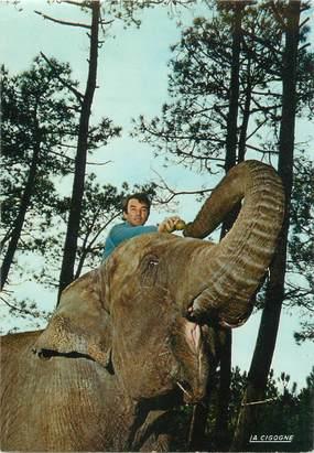 """CPSM FRANCE 17 """"La Palmyre"""" / ELEPHANT"""