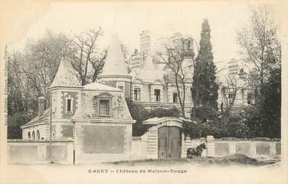 """/ CPA FRANCE 93 """"Gagny, château de maison rouge"""""""