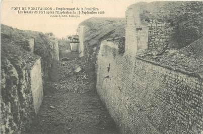 """CPA FRANCE 25 """"Fort de Montfaucon, emplacement de la poudrière"""""""