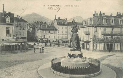 """CPA FRANCE 73 """"Chambery, le pont du reclus"""""""