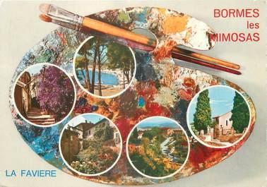 """CPSM FRANCE 83 """"Bormes Les Mimosas, la Favière"""""""