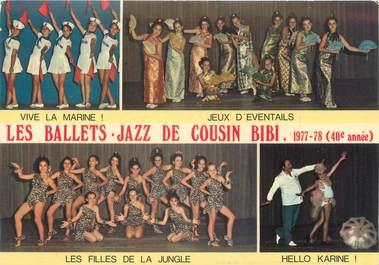 """CPSM FRANCE 06 """"Nice, les balletes, jazz de cousin Bibi"""""""