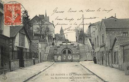 "CPA FRANCE 93 ""Le Raincy, le Temple protestant"""