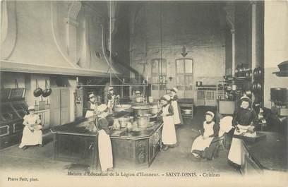 """CPA FRANCE 93 """"Saint Denis, maison d'éducation de la légion d'Honneur, cuisines"""""""