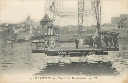 "CPA FRANCE 13 ""Marseille, nacelle du Transbordeur"""