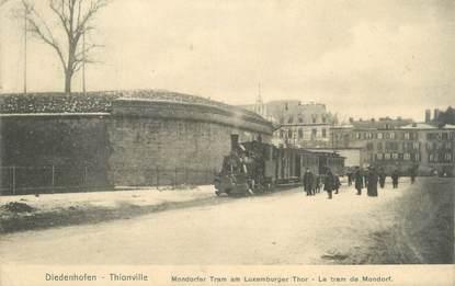 """CPA FRANCE 57 """"Thionville, le tram de Mondorf"""" / Ed. NELS"""