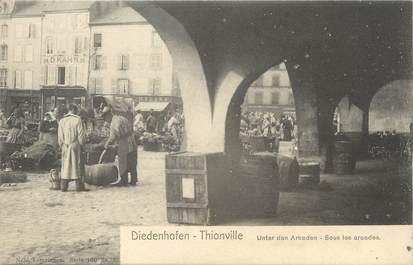 """CPA FRANCE 57 """"Thionville, sous les arcades"""" / Ed. NELS"""