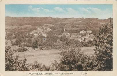 """CPA FRANCE 88 """"Nonville, vue générale"""""""