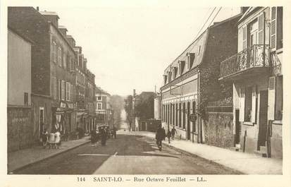"CPA FRANCE 50 ""Saint Lo, rue Octave Feuillet"""