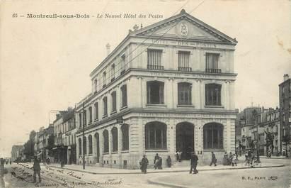 """CPA FRANCE 93 """"Montreuil sous Bois, Le Nouvel Hôtel des Postes"""""""