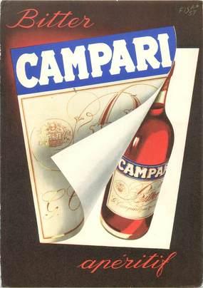 CPSM PUBLICITE / ALCOOL CAMPARI
