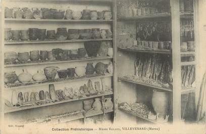"CPA FRANCE 51 ""Villevenard, musée Roland"""