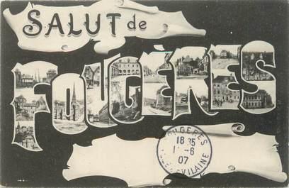"""CPA FRANCE 35 """"Fougères"""""""