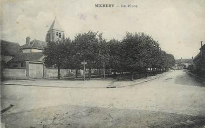"CPA FRANCE 89 ""Michery, la place"""
