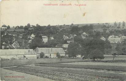 """CPA FRANCE 89 """"Vaudevanne, vue générale"""""""