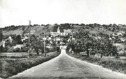 "CPSM FRANCE 89 ""Bellechaume, entrée du village"""